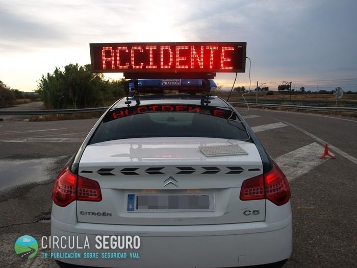 ¿Siniestro vial en tu camino?: atención a la distancia de seguridad para sobrepasarlo