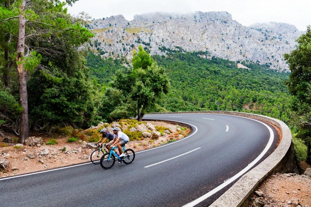 puerto de montana bicicleta