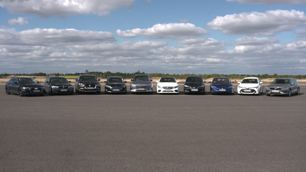 Prueba de Euro NCAP con la conducción autónoma