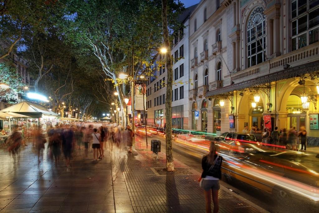 Rambla de Barcelona