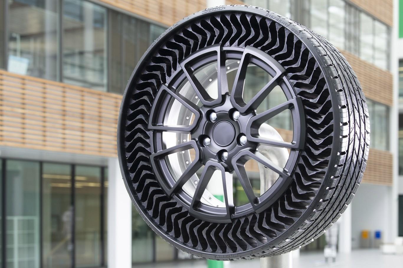 La reinvención de la rueda llega con el neumático sin aire