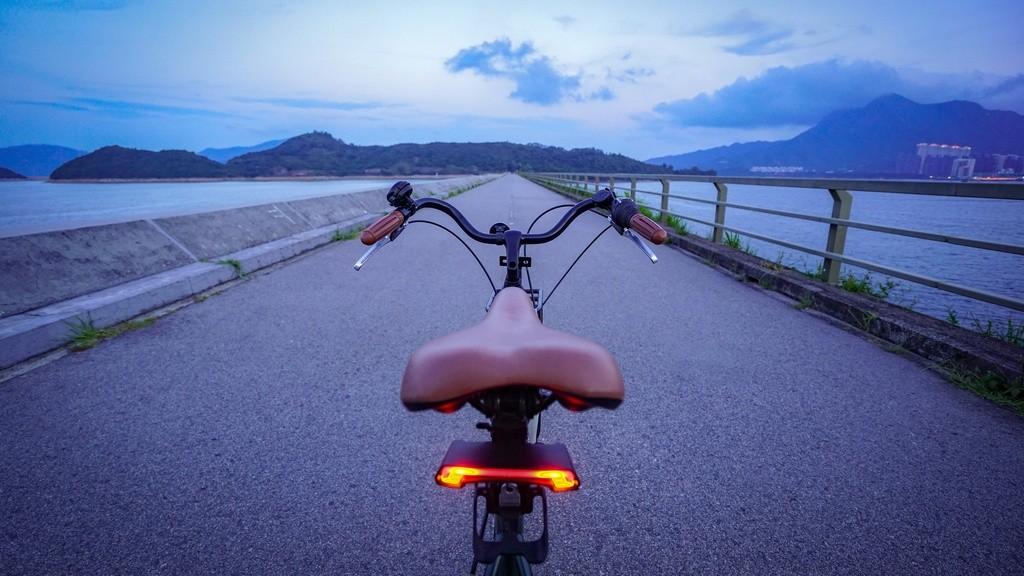 ¿Es posible una bicicleta con luces intermitentes?