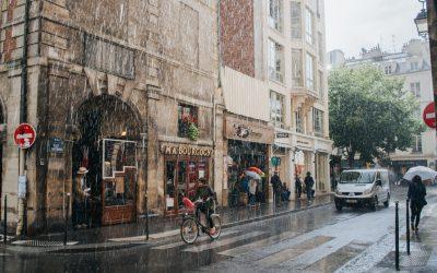 ¿Sabes circular en bicicleta cuando llueve?