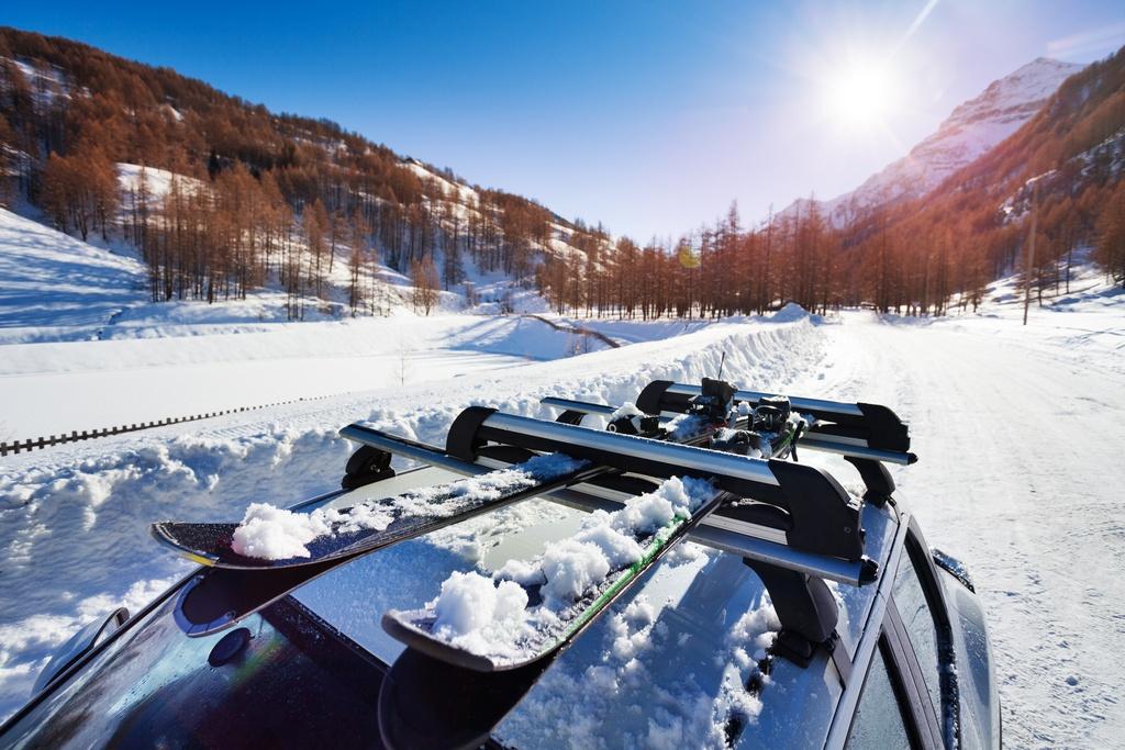 conducir pista esqui