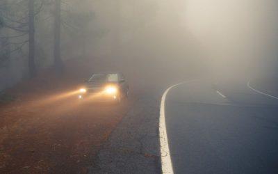 Homiclofobia al volante: el pánico a conducir con niebla