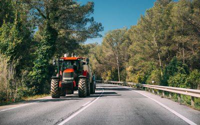 Medidas básicas de seguridad para tractores agrícolas