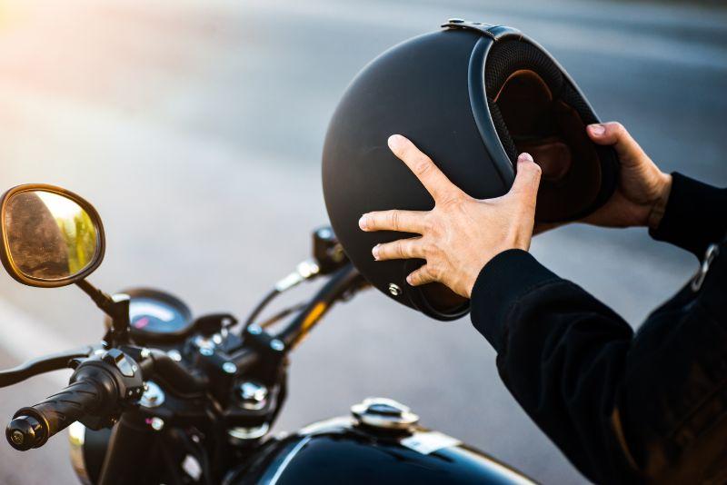 casco de moto