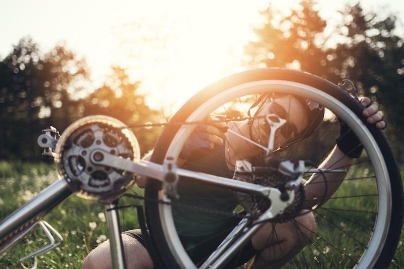 bicicleta transporte