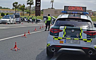 ¿Cómo comportarse ante un control policial en carretera?