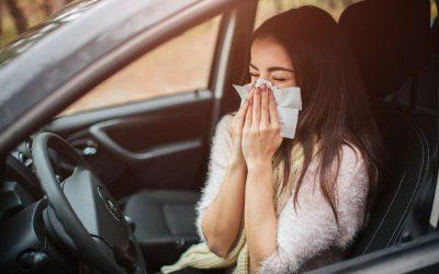 Los peligros de conducir si eres alérgico y posibles soluciones