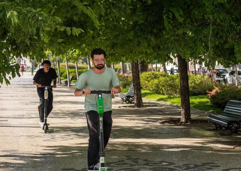 Patines y bicicletas en coronavirus