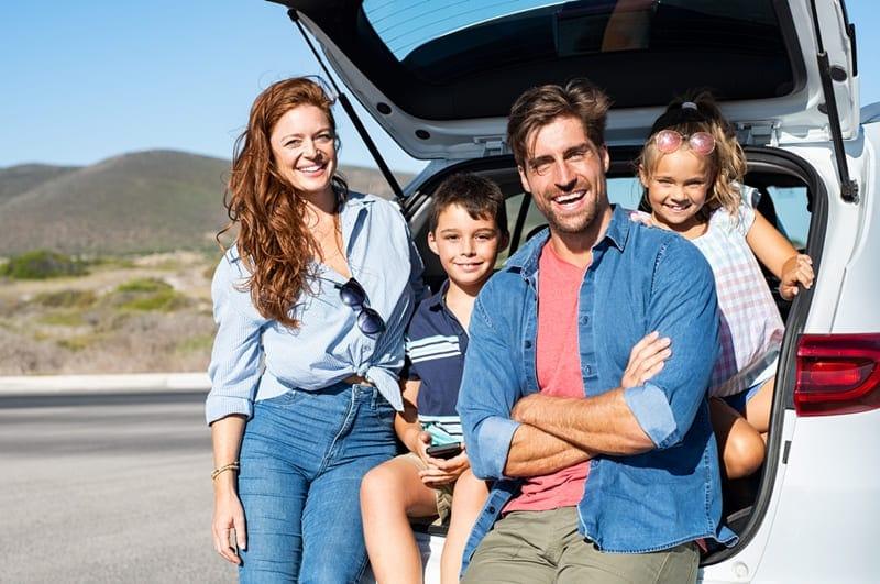 viaje familiar