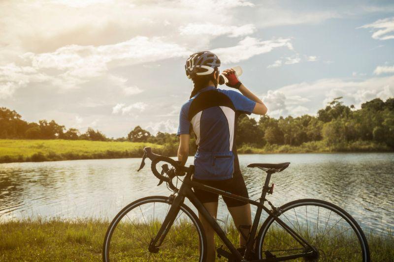 bicicleta en verano