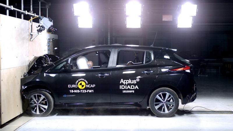Nissan LEAF en Euro NCAP