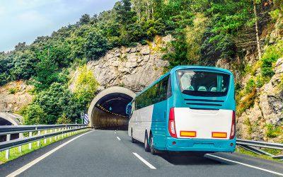 Viajar en autobús, veinte veces más seguro que hacerlo en coche