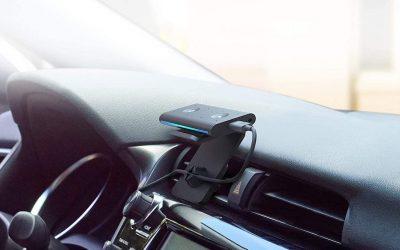 Qué podrás hacer con un altavoz inteligente en tu coche y por qué es más seguro