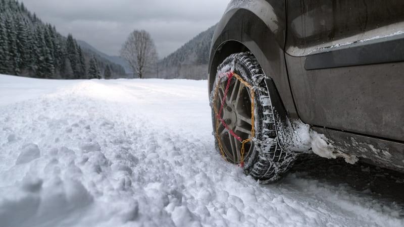 coche nieve