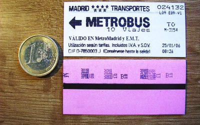 ¿Sabemos lo que cuesta el transporte público?