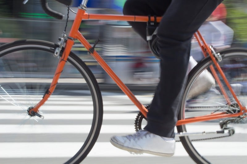 En-bici-al-trabajo