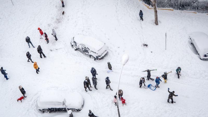 movilidad en la nieve