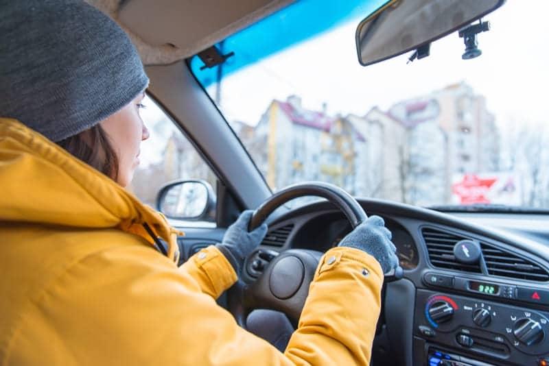 abrigo para conducir