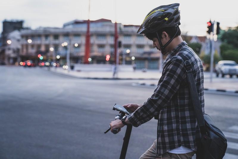 Casco de bici en VMP