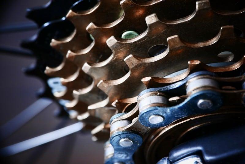 engrase bicicleta