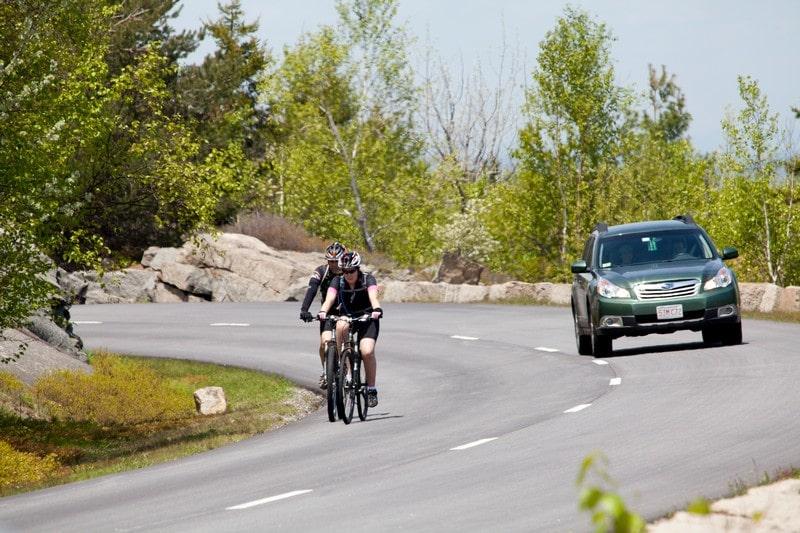 Adelantamiento de ciclistas