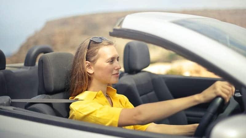 conducir concentrado
