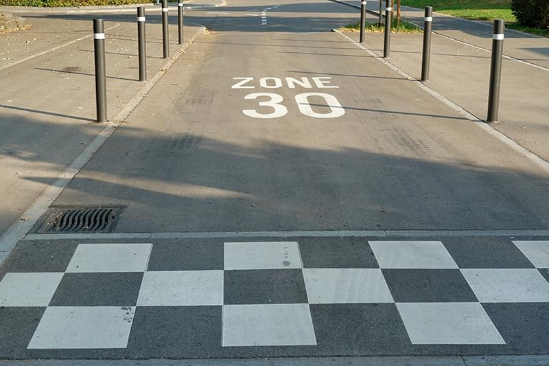 ciudades a 30 km/h seguridad vial