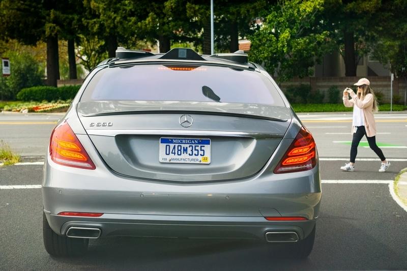Mercedes autónomo