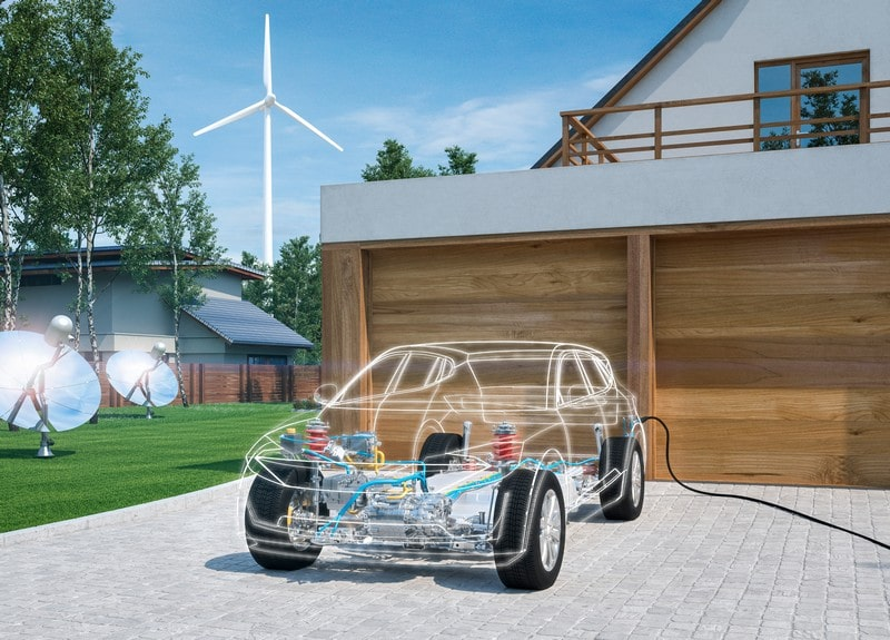 chasis coche eléctrico